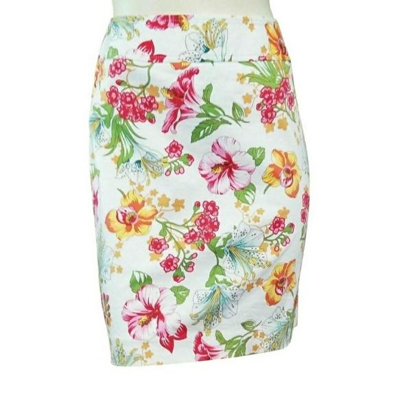Rafaella Dresses & Skirts - Rafaella Floral Pencil Skirt